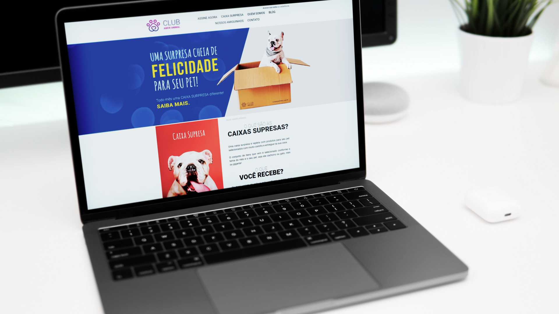 Website Club Amor Animal